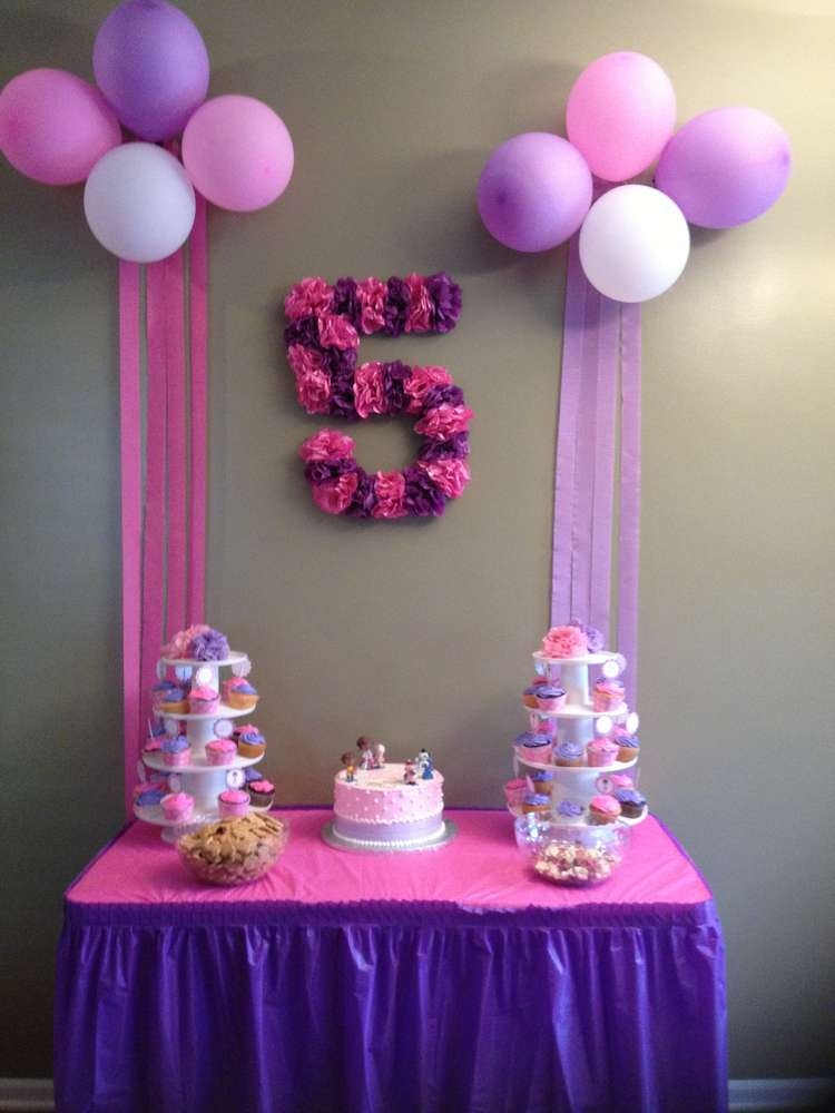 picture centerpieces for birthday party ; decoration-birthday-party-new-doc-mcstuffins-birthday-party-ideas-3-of-14-of-decoration-birthday-party