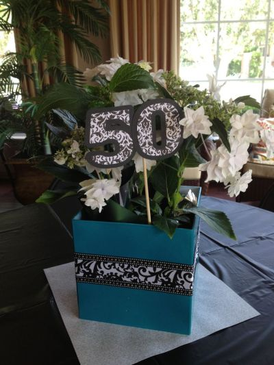 picture centerpieces for birthday party ; x50th-Birthday-Party-Decorations-Floral-Centerpiece