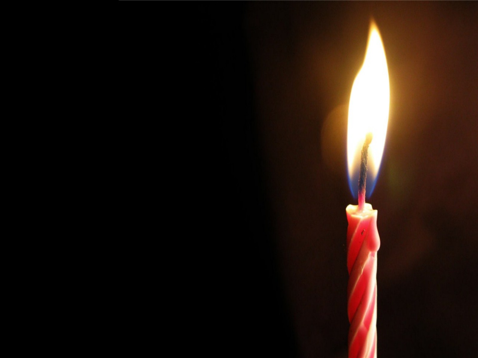 picture of birthday candles burning ; Burning-Birthday-Candle-Wallpaper