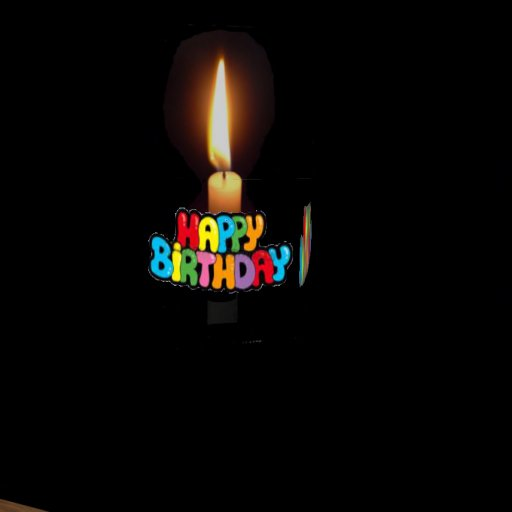 picture of birthday candles burning ; candleimg