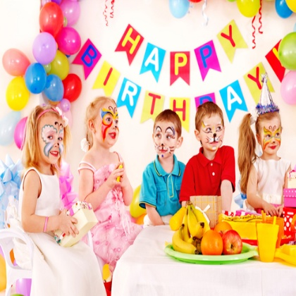 picture of birthday party celebration ; Birthday-Party