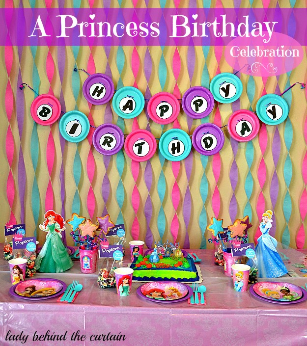 picture of birthday party celebration ; Lady-Behind-The-Curtain-A-Princess-Birthday-Party-6-1