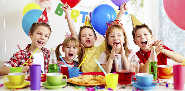 picture of birthday party celebration ; kids-birthday-party