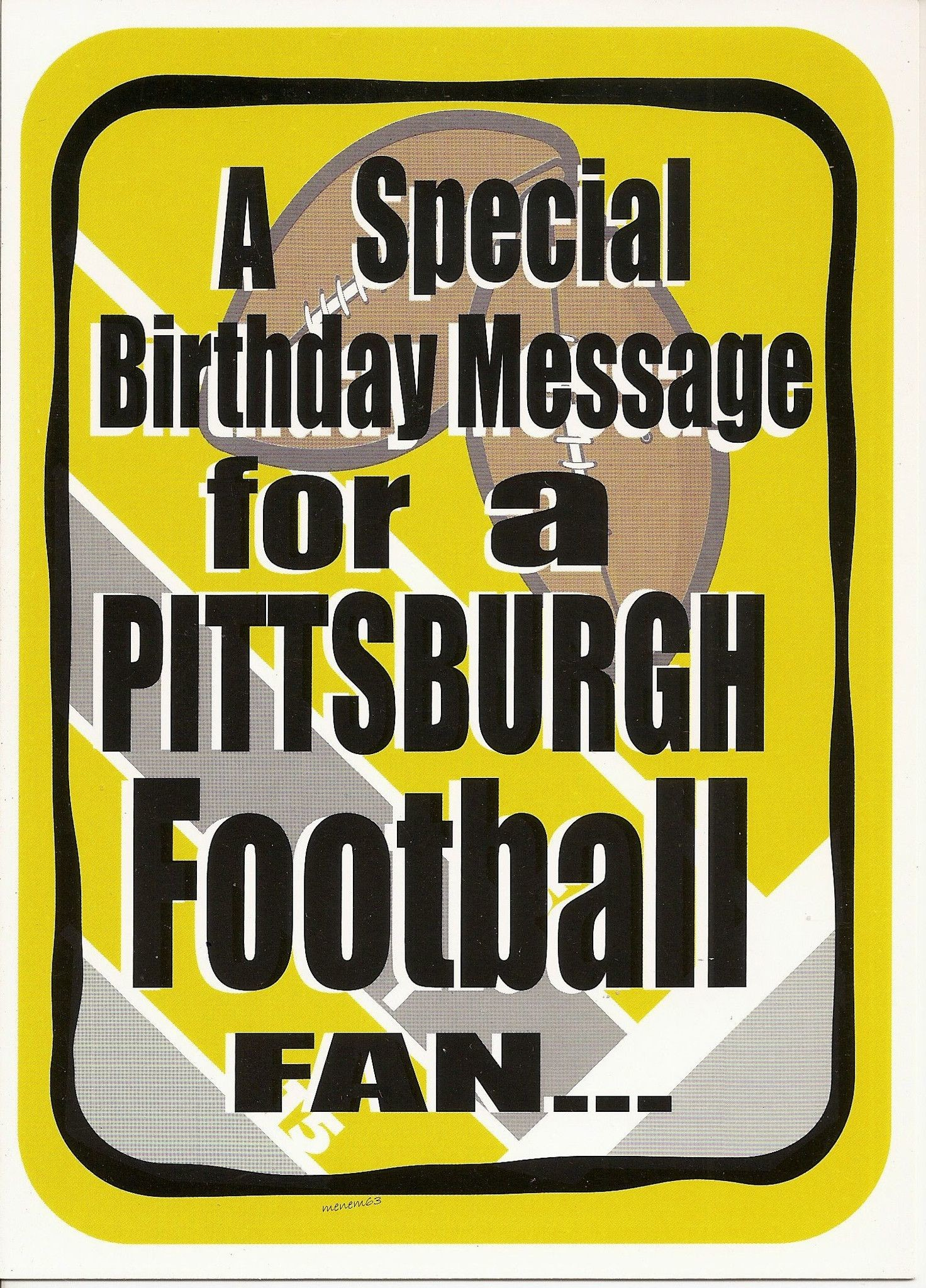 pittsburgh steelers happy birthday ; 156577