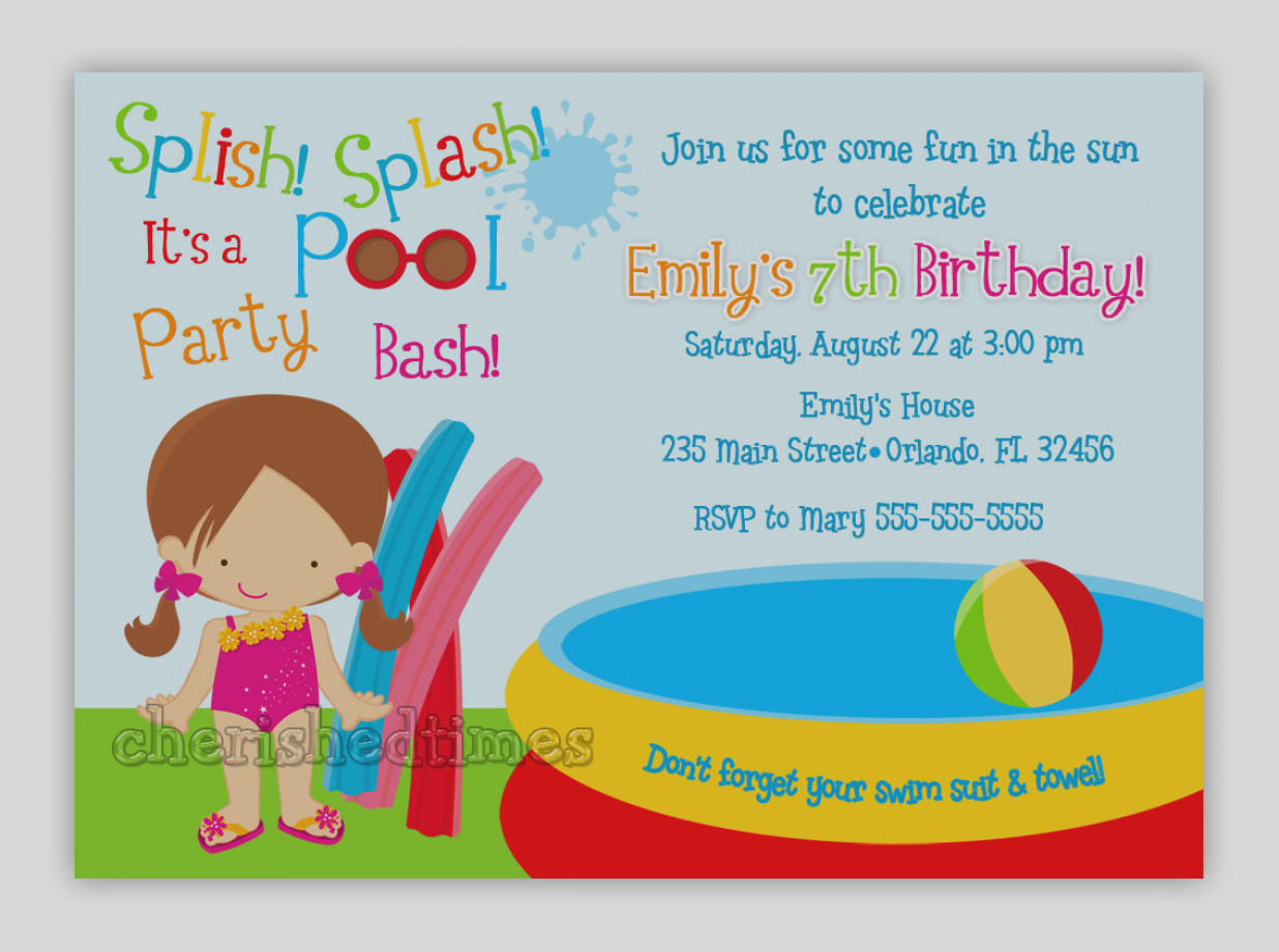 pool birthday party invitation ideas ; images-kid-birthday-party-invitations-kids-pool-invitation-idea-with-wording-emuroom