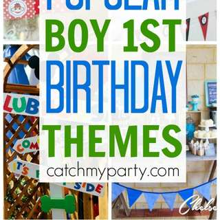 popular birthday party themes ; 10-most-popular-boy-1st-birthday-themes-580x2362
