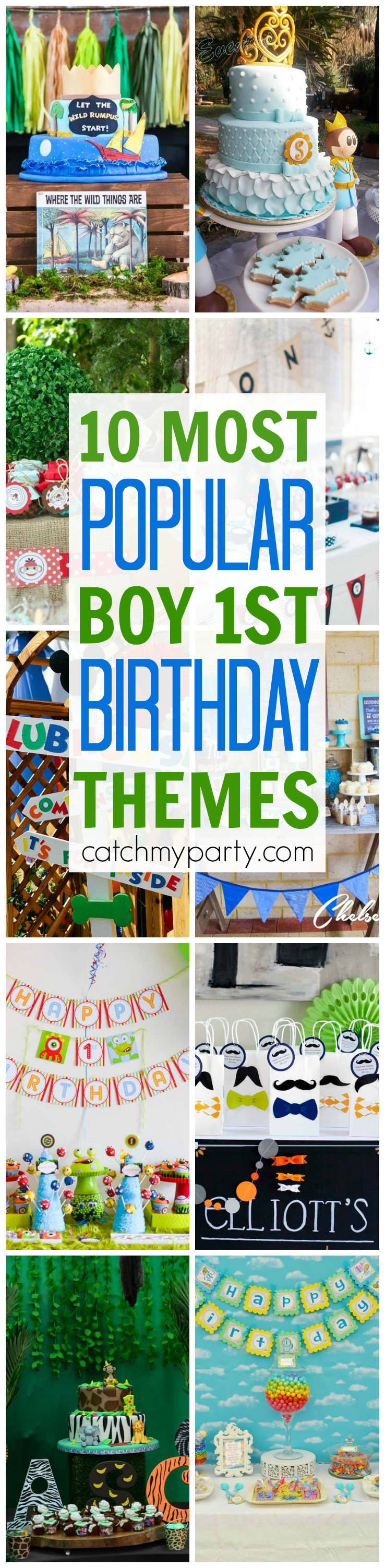 popular birthday party themes ; 10-most-popular-boy-1st-birthday-themes