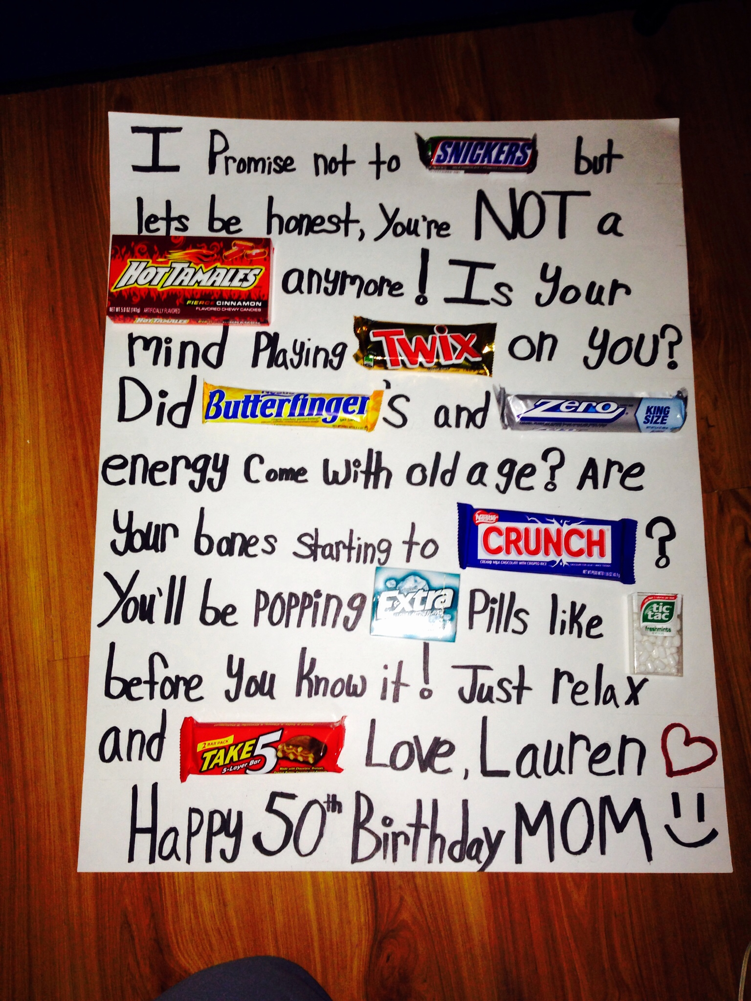 poster board ideas for birthday ; 50th-birthday-card-ideas-fresh-50th-birthday-candy-poster-board-so-cute-and-easy-of-50th-birthday-card-ideas