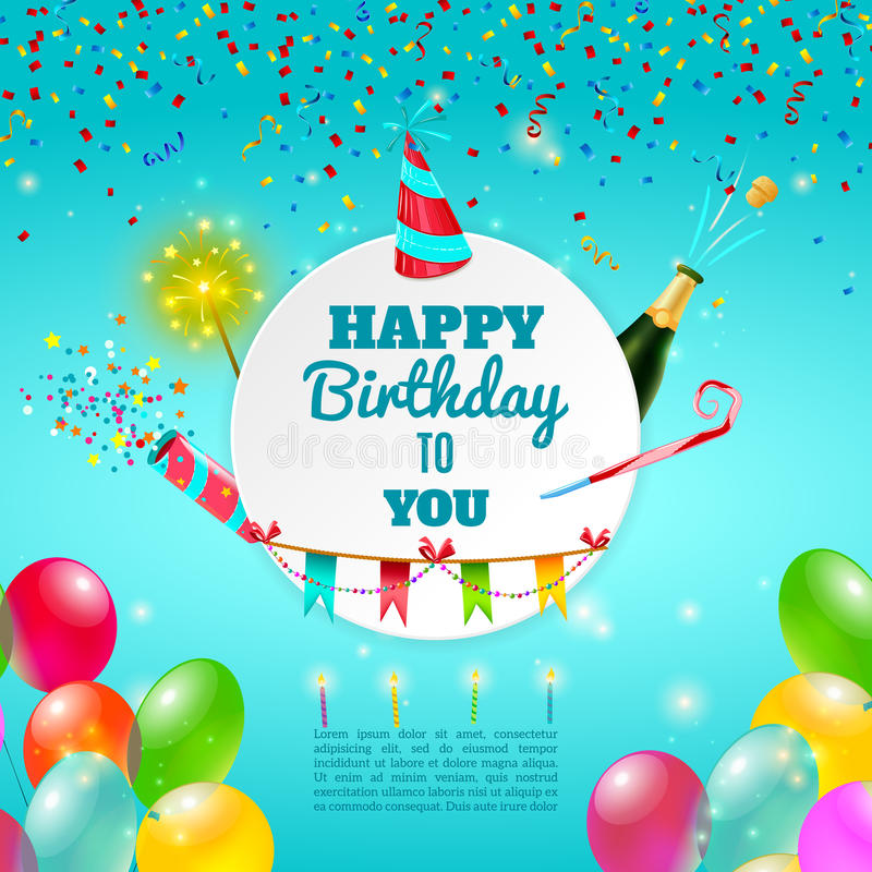 poster de happy birthday ; happy-birthday-celebration-background-poster-adult-party-template-invitation-card-champagne-decorations-abstract-59916229