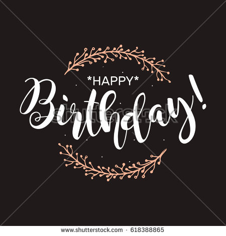 poster de happy birthday ; stock-vector-happy-birthday-beautiful-greeting-card-poster-with-calligraphy-white-text-word-hand-drawn-pink-618388865