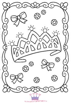 princess birthday coloring pages ; 0a640bba18a1ccb78188e6a637872dfb--princess-tiara-princess-theme