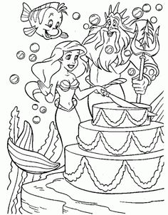 princess birthday coloring pages ; ecb4e892c910b228021279642aec3b35--huge-cake-disney-princess-coloring-pages