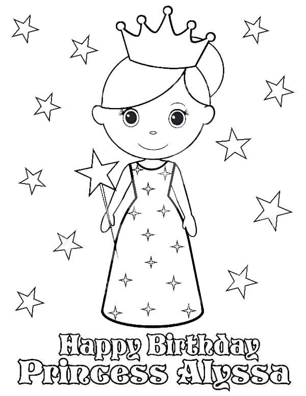 princess birthday coloring pages ; f28d931418e5430890de27cf153b364e