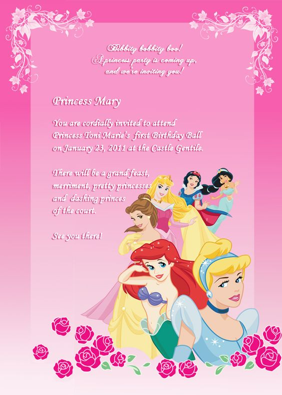 princess birthday invitation template ; birthday-invitations-birthday-party-invitation-free-princess-birthday-party-invitations-template