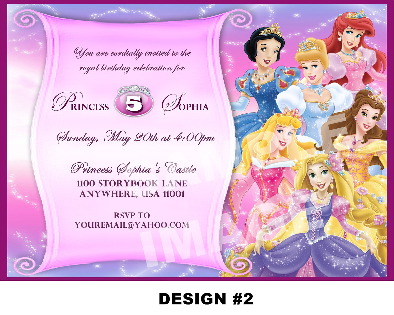 princess birthday invitation template ; free_printable_princess_birthday_invitations_for_kids_1