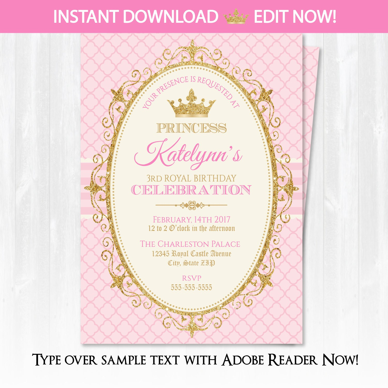 princess birthday invitation template ; invitation-wording-princess-party-best-princess-birthday-invitations-of-invitation-wording-princess-party