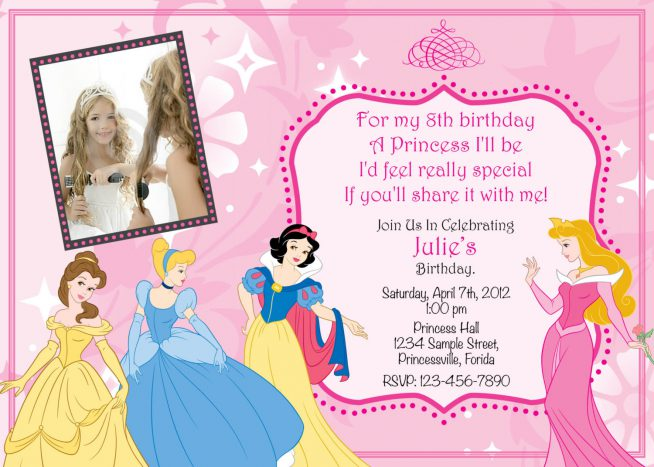 princess birthday invitation template ; princess-birthday-invitations-and-Birthday-Invitation-Templates-with-an-incredible-technique-template-to-shape-adorable-displays-3-654x467