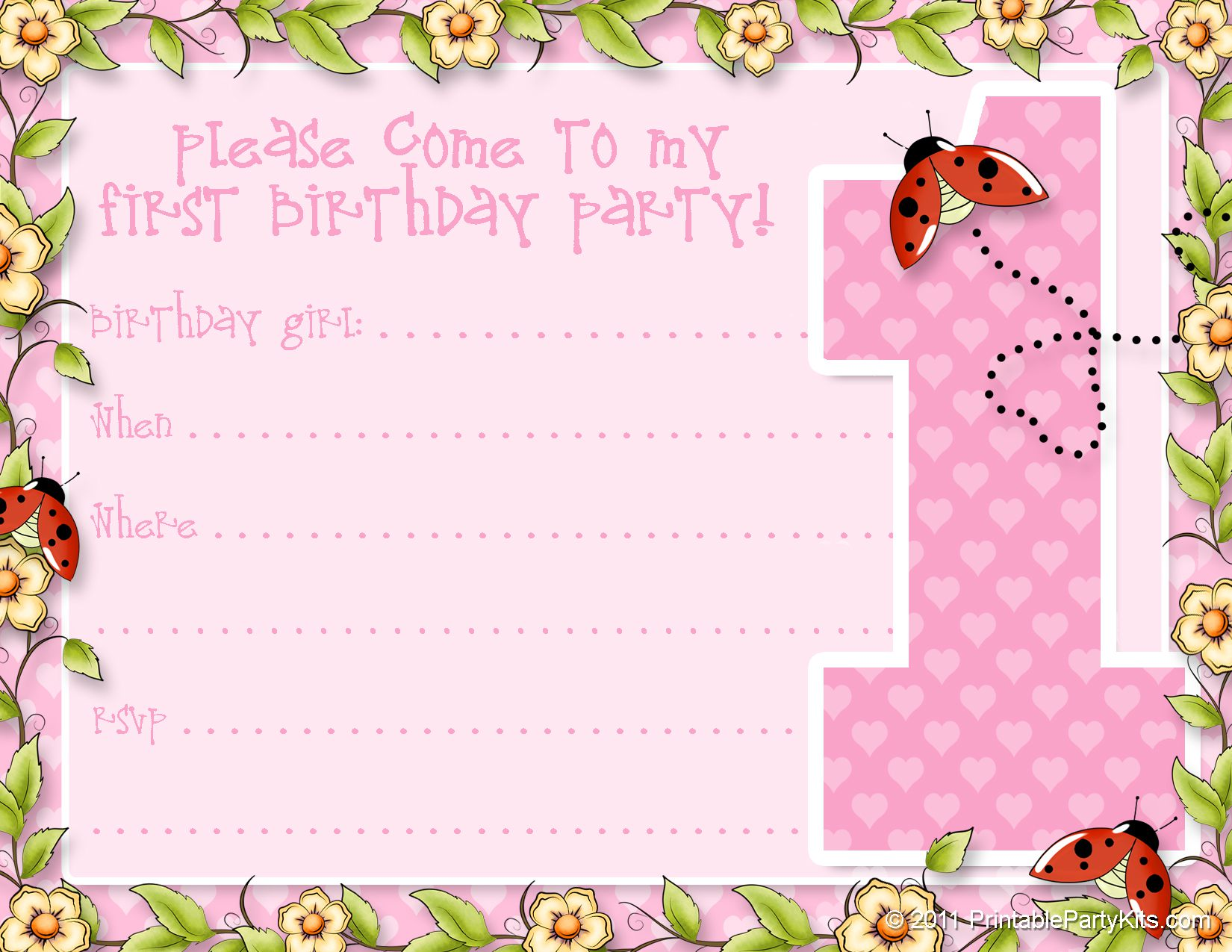 printable 1st birthday cards ; free-printable-photo-1st-birthday-invitations