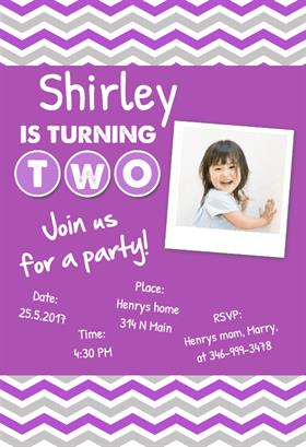 printable baby birthday invitations ; pGirls-2nd-Birthday-Party_1