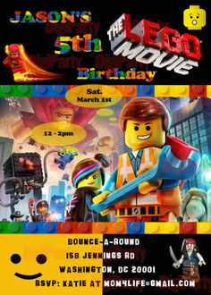 printable lego movie birthday invitations ; 60d4d4b6bf5276cee536c24cbe902c99