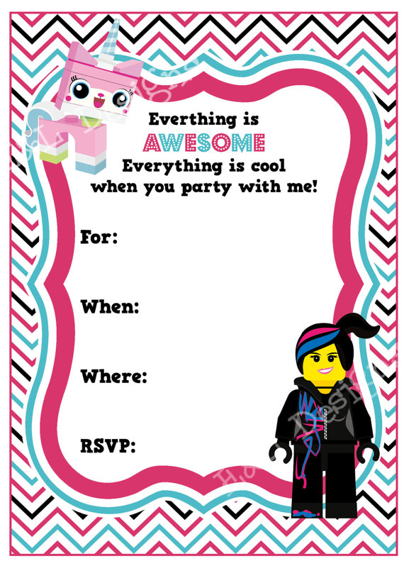 printable lego movie birthday invitations ; abb0c0730ac61197edae57a56c95fe2b