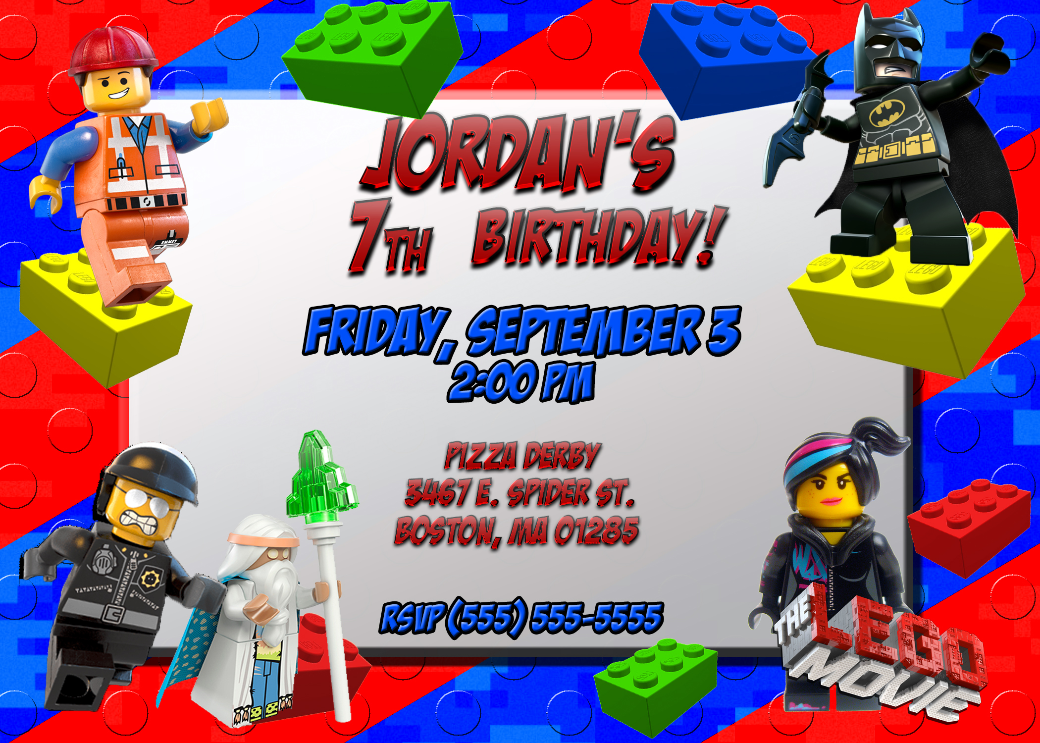 printable lego movie birthday invitations ; lego-movie-2014-birthday-invitation