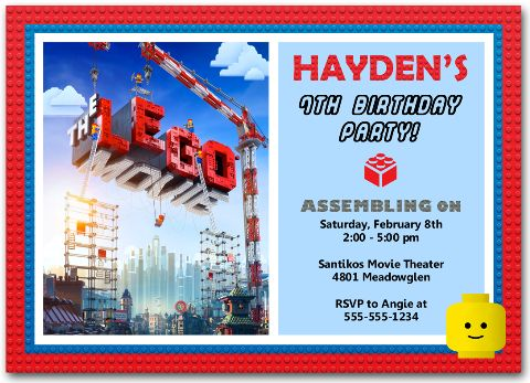 printable lego movie birthday invitations ; lego-movie-birthday-party-invitations