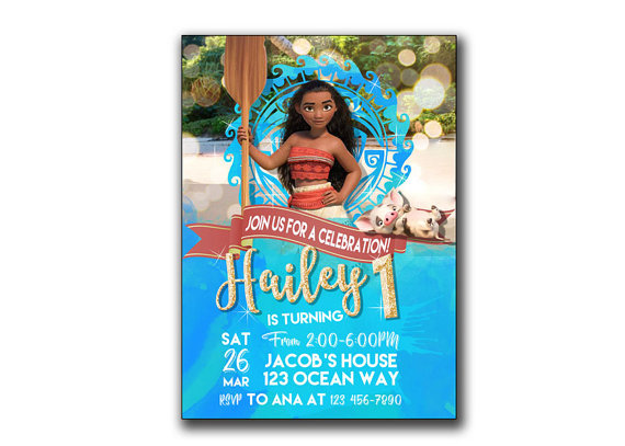 printable moana birthday card ; 07ff5cfbf8c67873570d1e97d044405d