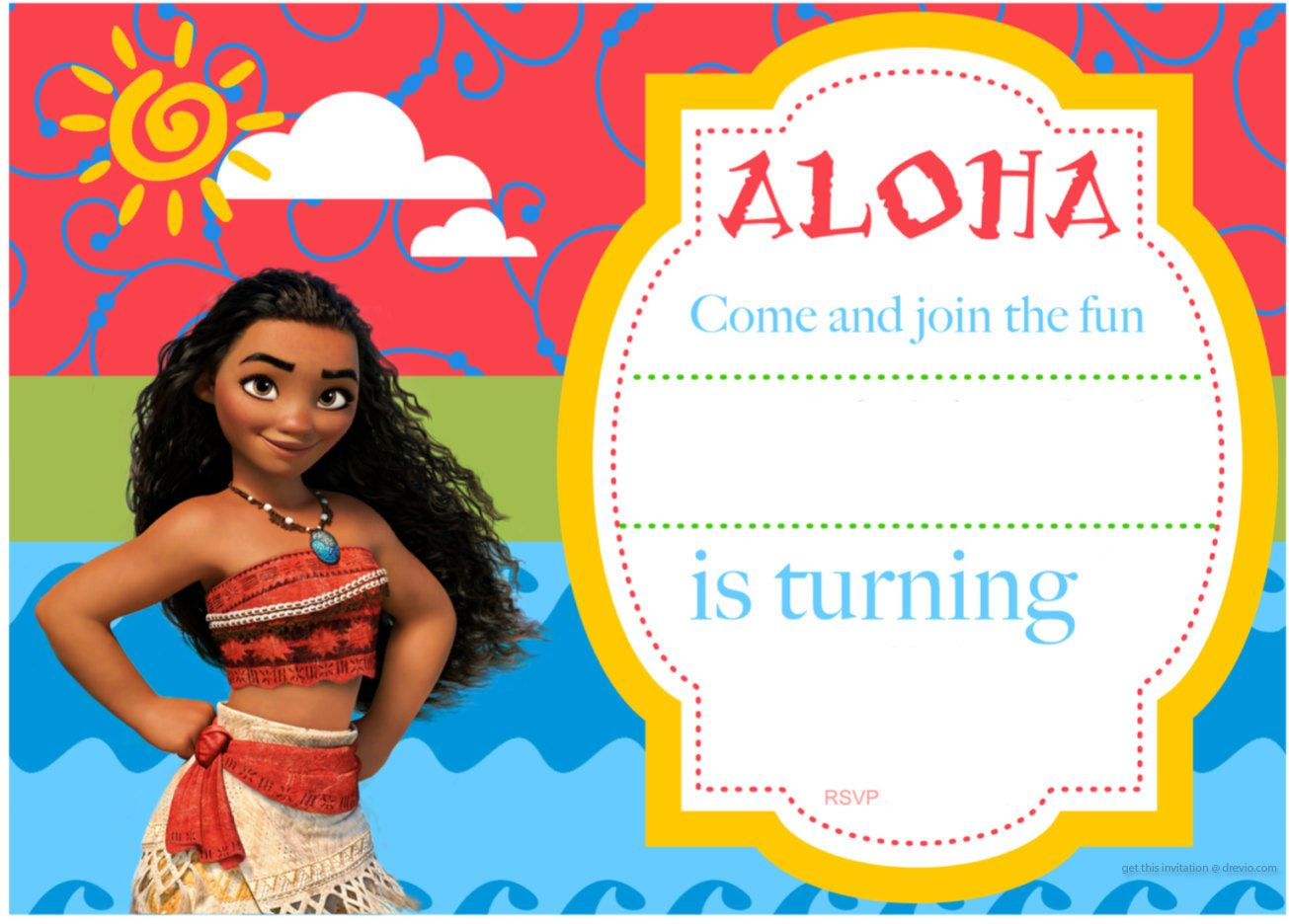 printable moana birthday card ; 23828631b0366cb49f50953de2a1e361