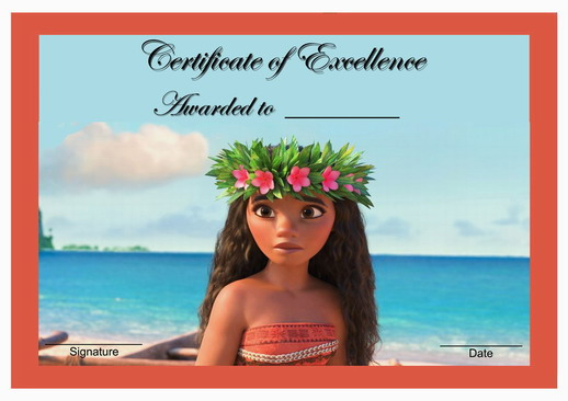 printable moana birthday card ; Moana-award-main