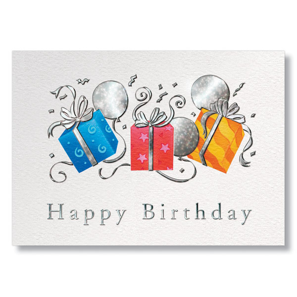 professional birthday greeting cards ; G0089-Trio-Of-Gifts-Corporate-Birthday-Card_xl