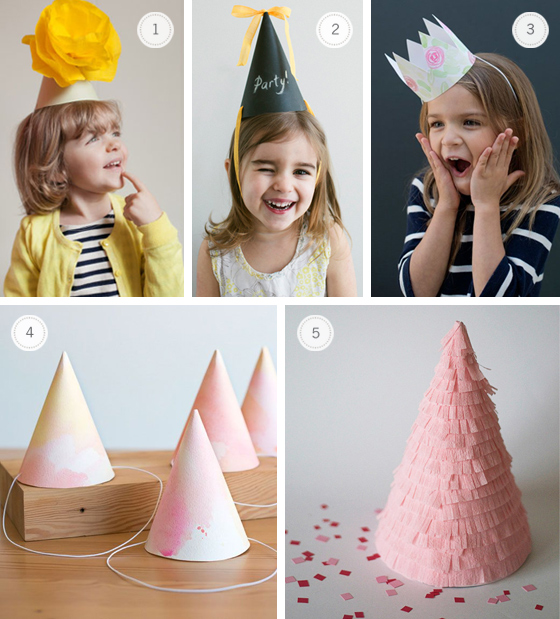 put a birthday hat on a picture ; party-hat