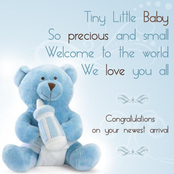 quote for baby boy birthday ; baby-boy-messages1