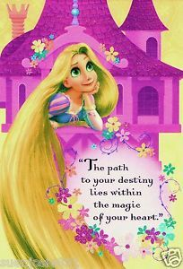 rapunzel birthday wish ; 182042423_disney-tangled-rapunzel-castle-birthday-greeting-card