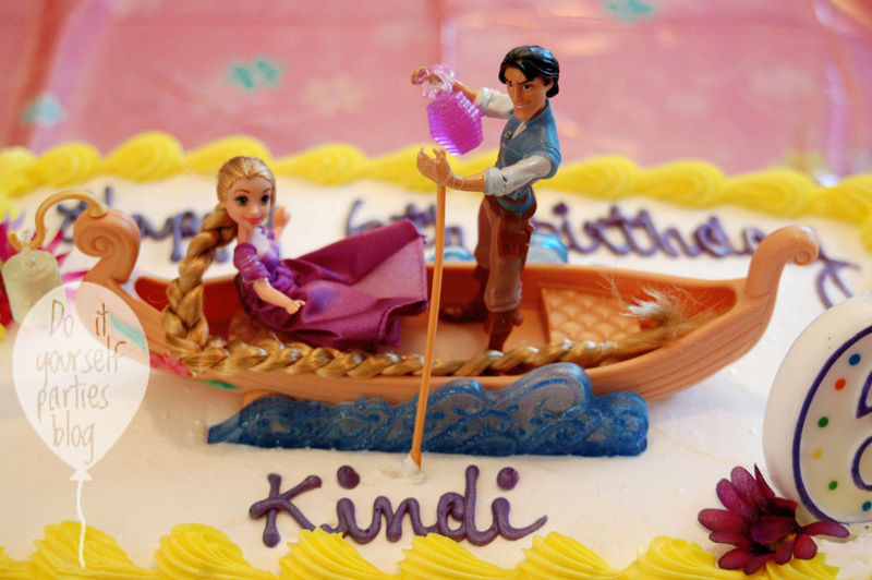 rapunzel birthday wish ; Cake2