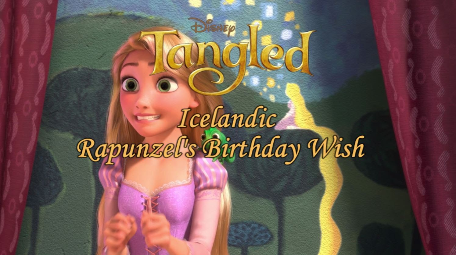 rapunzel birthday wish ; maxresdefault