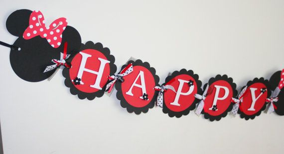 red and white happy birthday banner ; 13a36290aae810719085d10e2ed488ea