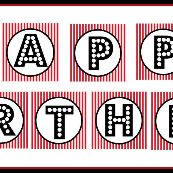 red and white happy birthday banner ; free-printable-happy-birthday-banner-red-black-white-in-printable-birthday-banner-600x600