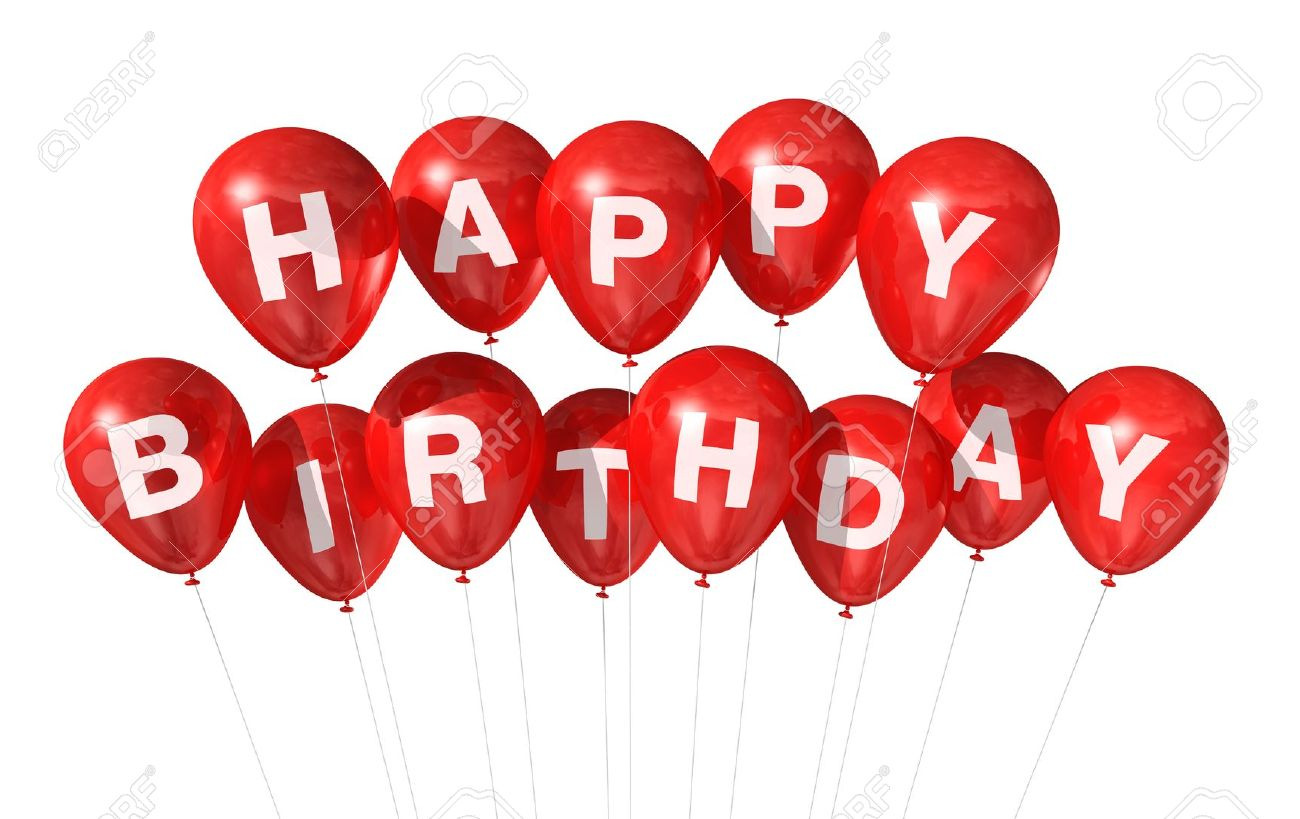 red happy birthday sign ; 9277914-3d-red-happy-birthday-balloons-isolated-on-white-background