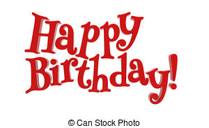 red happy birthday sign ; happy-birthday-3d-happy-birthday-on-white-background-pictures_csp25213486