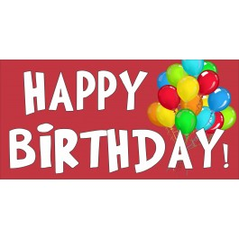 red happy birthday sign ; happy_birthday_banners_1_2_1