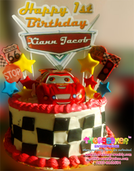 red ribbon birthday cakes design and prices ; cars2--smaller%252Bcopy
