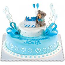 red ribbon birthday cakes design and prices ; red-ribbon-blue-happy-bear-by-152