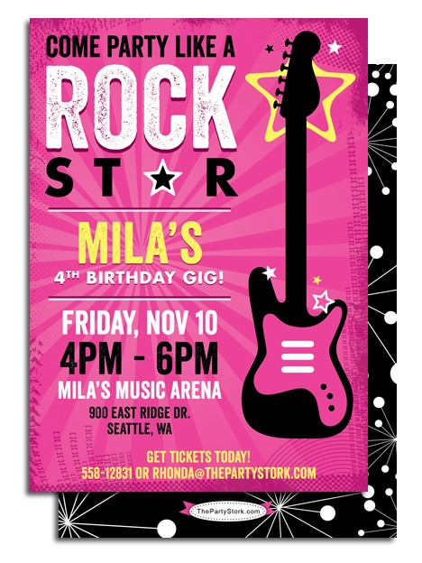 rockstar birthday invitations printable ; rock-star-birthday-party-invitations-drop-dead-Party-invitations-as-your-best-friendship-appreciation-to-your-best-friends-15