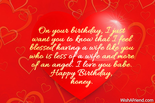 romantic birthday card messages for wife ; 518-wife-birthday-wishes