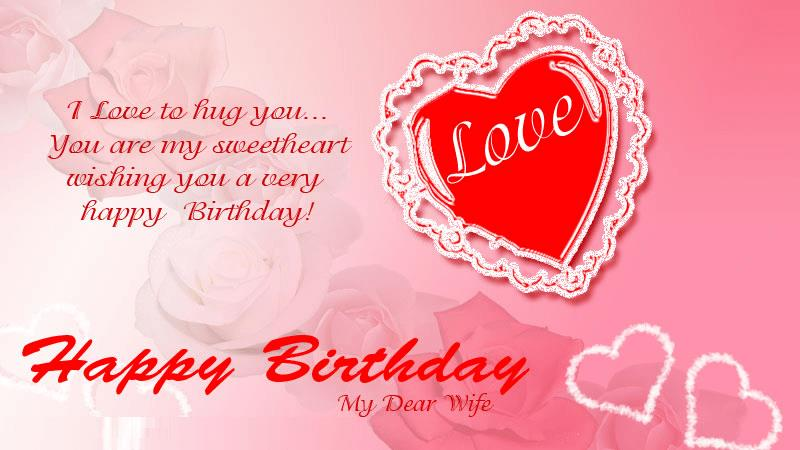 romantic birthday card messages for wife ; 615a3e650e3368f1c2a0490868257347