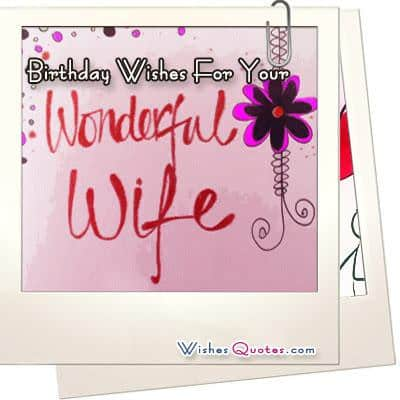 romantic birthday card messages for wife ; Birthday-Wishes-Wife