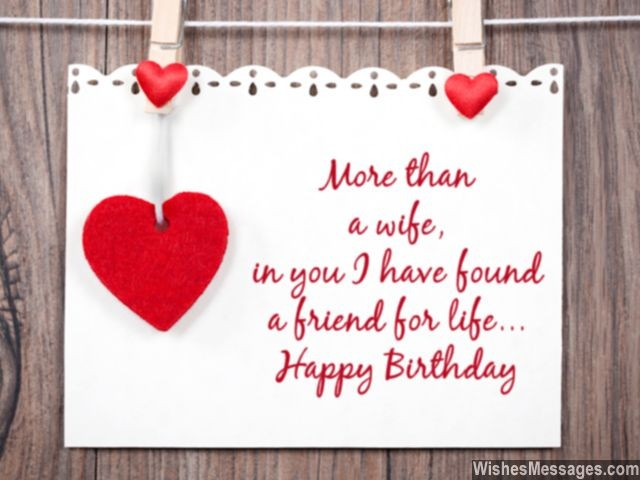 romantic birthday card messages for wife ; Birthday-wishes-for-wife-cute-greeting-card-640x480