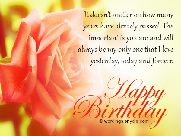 romantic birthday card messages for wife ; birthday-wishes-for-wife