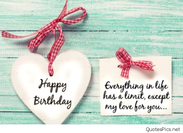 Romantic Birthday Greeting Cards For Lover Wishes Him